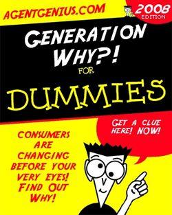 Generationy4-dummies
