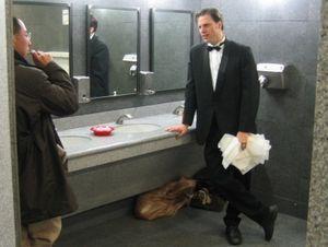 Bathroomo attendent