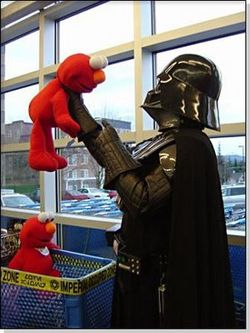 Vader and elmo