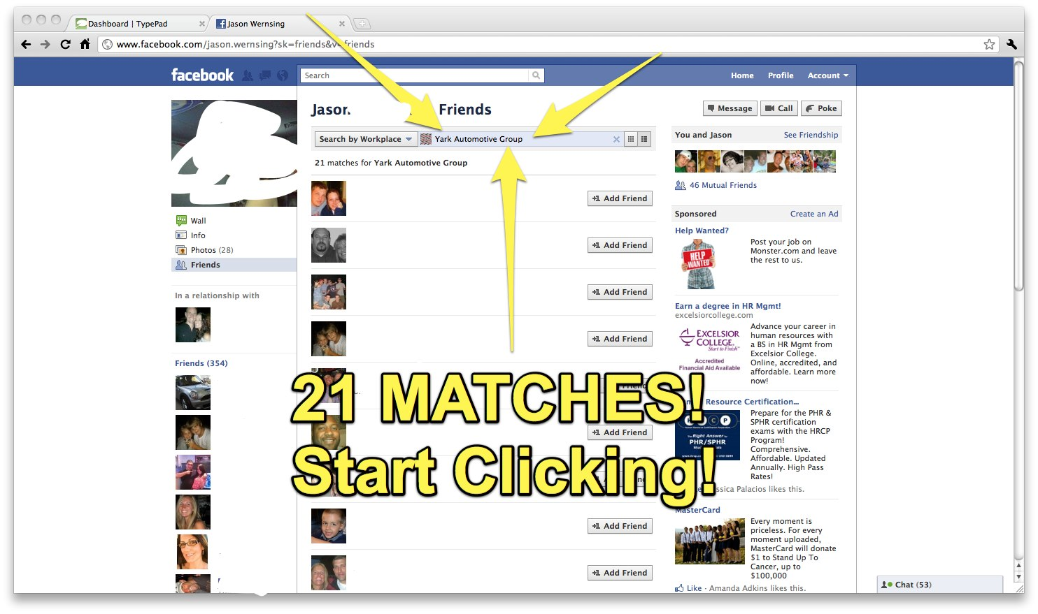 Sneaky Recruiting: People on Facebook    - Fistful of Talent
