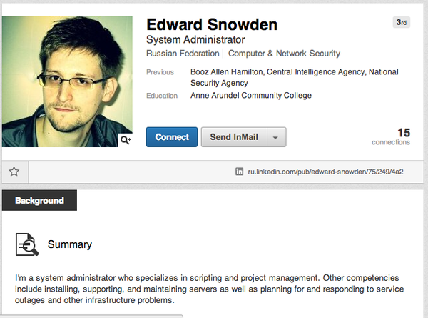 The HR Capitalist: Edward Snowden: No Degree, Lied on His Resume ...