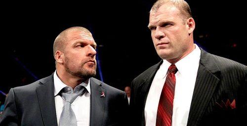 Kane and HHH
