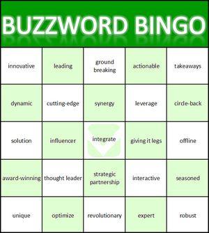 BuzzwordBingo