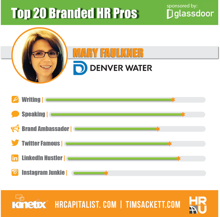 Glassdoor Top 20 - Mary Faulkner