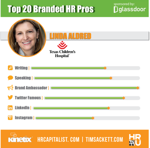 Glassdoor Top 20 - LINDA ALDRED