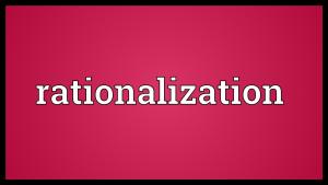 Rationalize