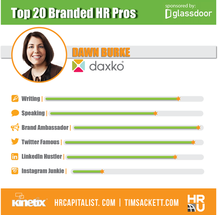 Glassdoor Top 20 - Dawn Burke