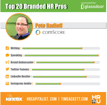 Glassdoor Top 20 - Pete Radloff
