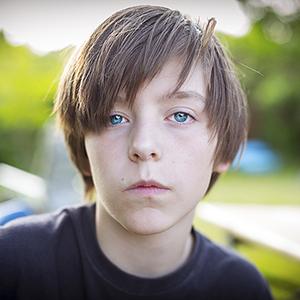 Defiant kid