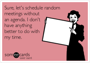 BOSS Tip: Send an Agenda/Info For Your Meeting, Control the Narrative...